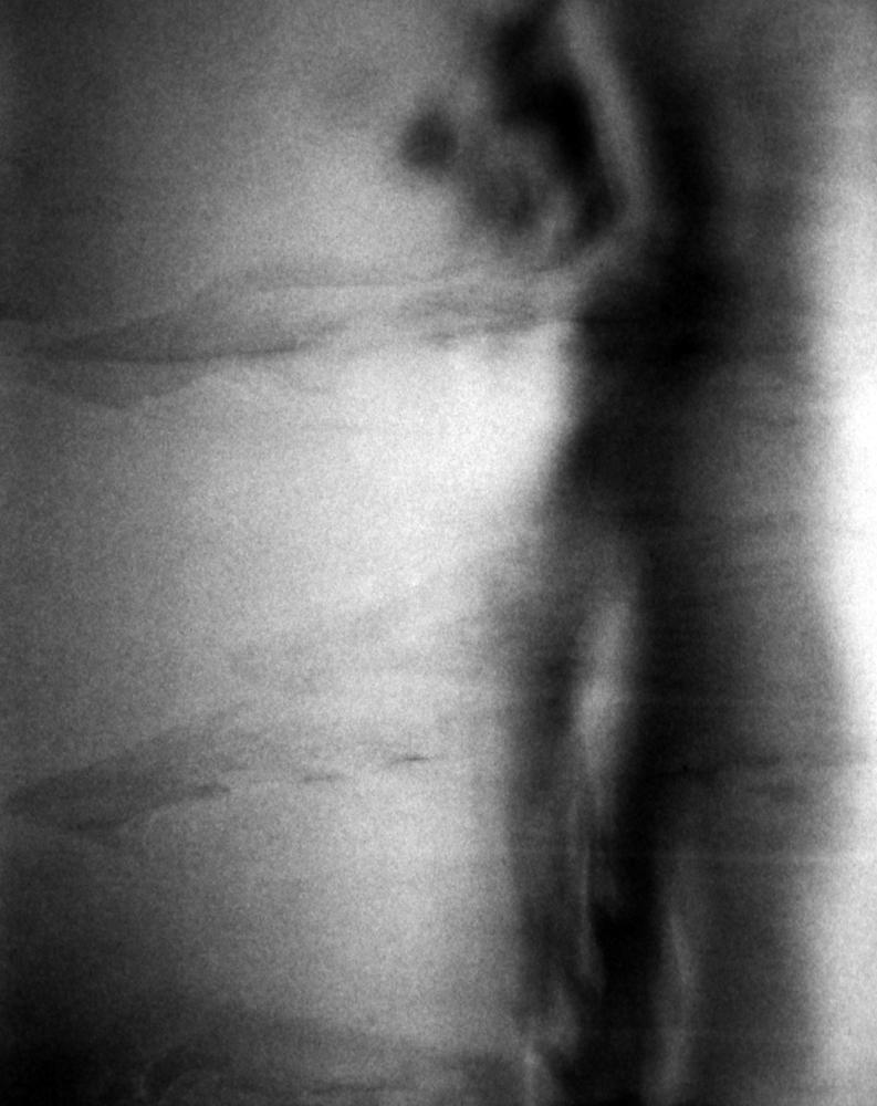 sub rosa, no. 1  1995 Gelatin silver print 40.6 H x 33 W cm / 16 x 13 in