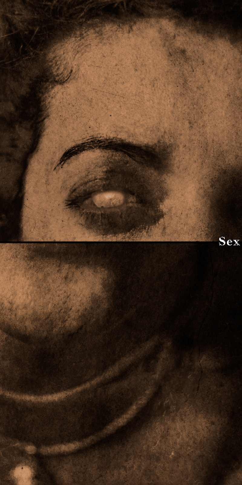 Frances (Sex)  2012 Archival pigment print 190 H x 95 W cm / 75 x 37.5 in