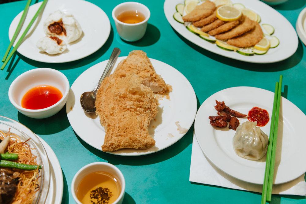 taro root fish