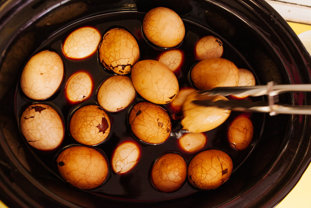 five spice tea eggs