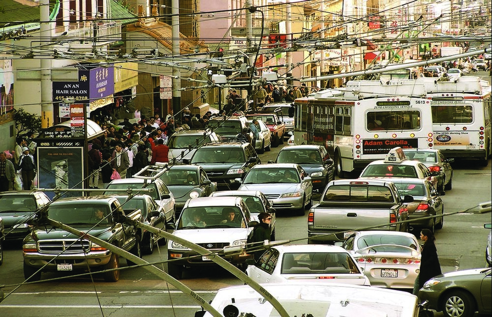 Don't spend your weekend stuck in Chinatown traffic, use Park and Ride!
