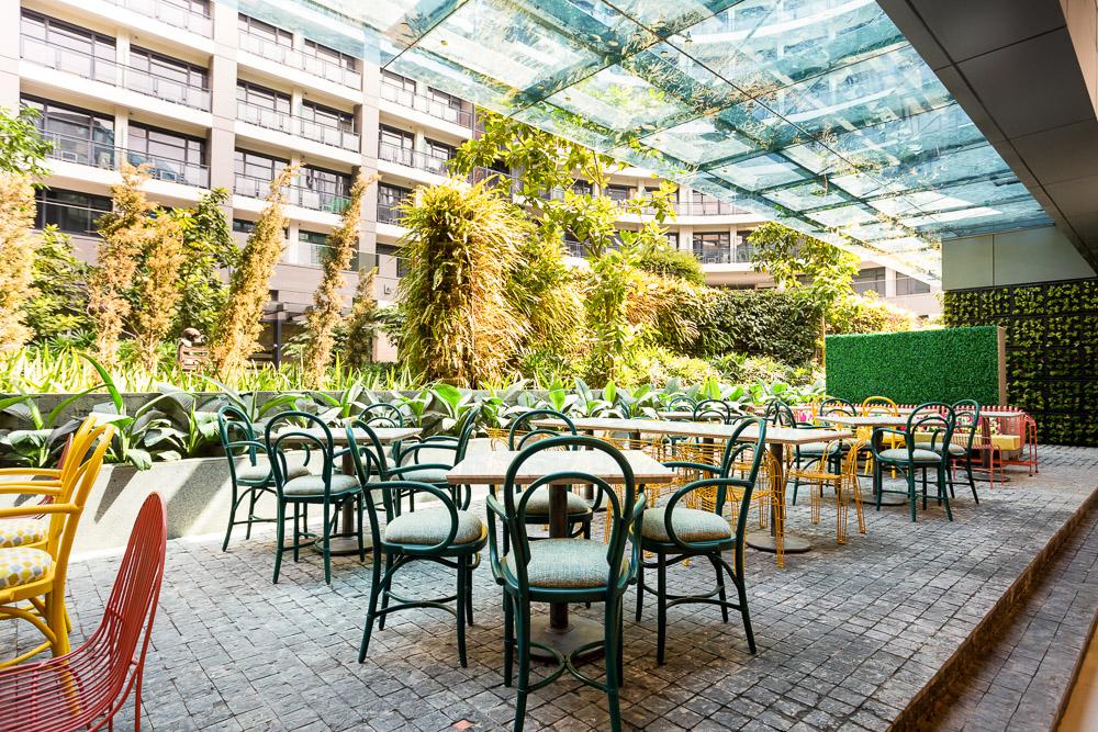 Early Bird Century City Mall Al Fresco