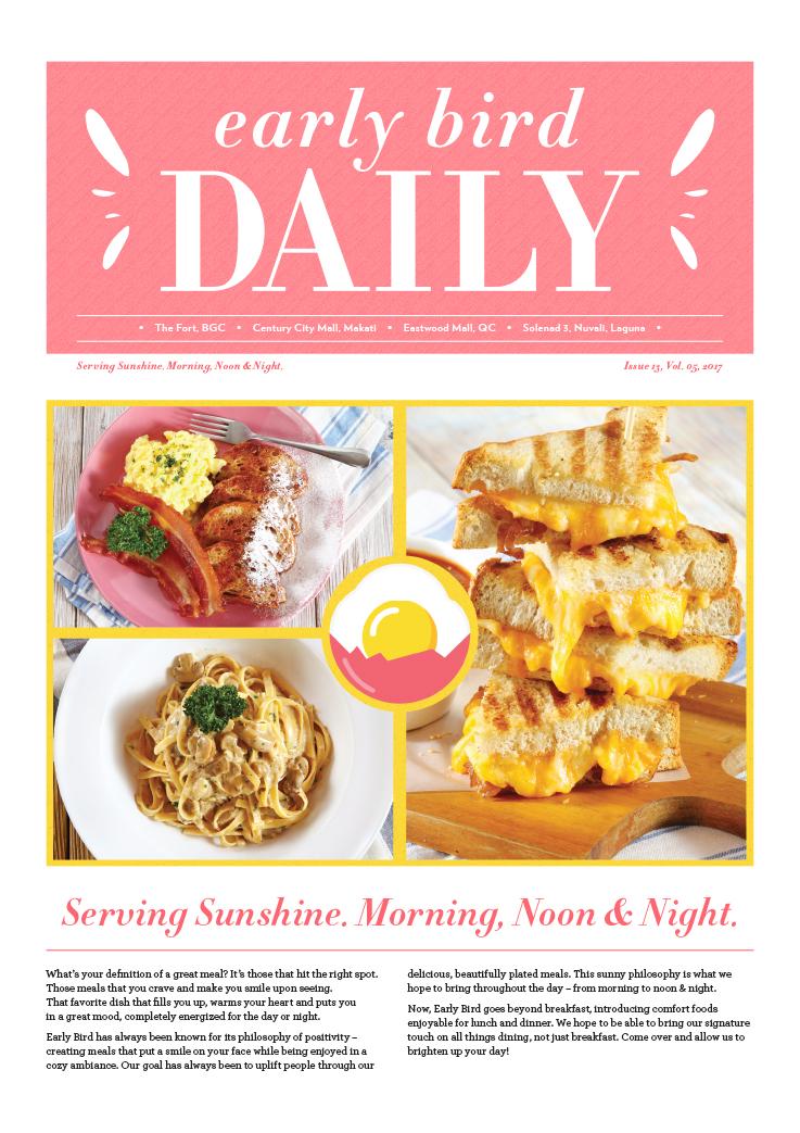 Early Bird Daily #13
