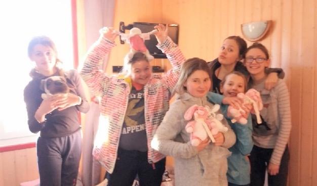 Le groupe des filles
