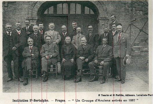 Les fondateurs de l'association des anciens