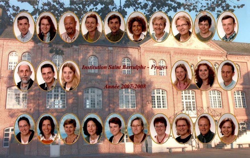Enseignants en 2007/2008