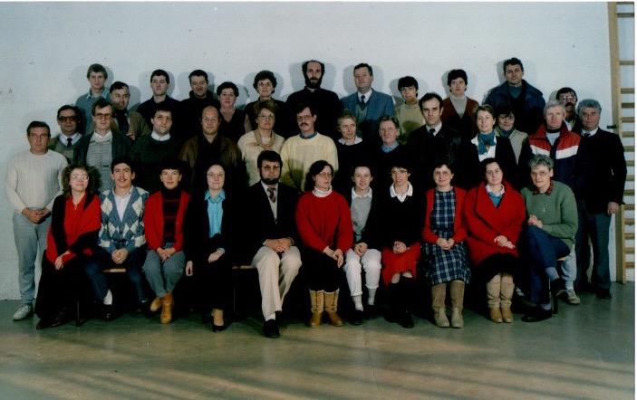Enseignants debut des années 90