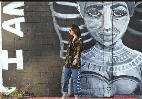 Embellished Military & Distressed Denim 😎 . . . . #streetstyle #streetphotography #distressedjeans #distresseddenim #embellished #reccyled #art #model #style #stylish #fashionphotography #houstonart #houstonartist #houstoneado #eado #eadohouston #htown #designer #houstondesigner