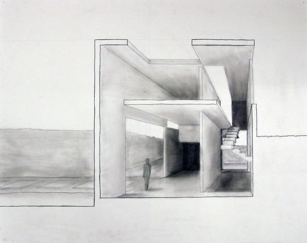 An experiential sectional perspective of the cube house