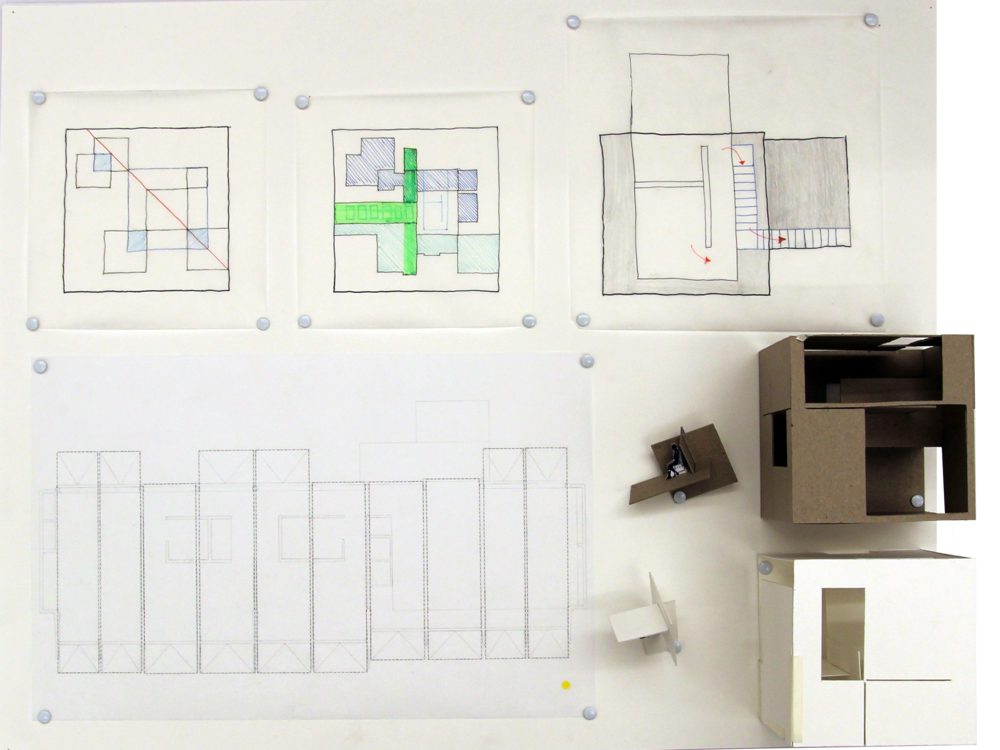 Process board: focus on overlapping geometries and circulation