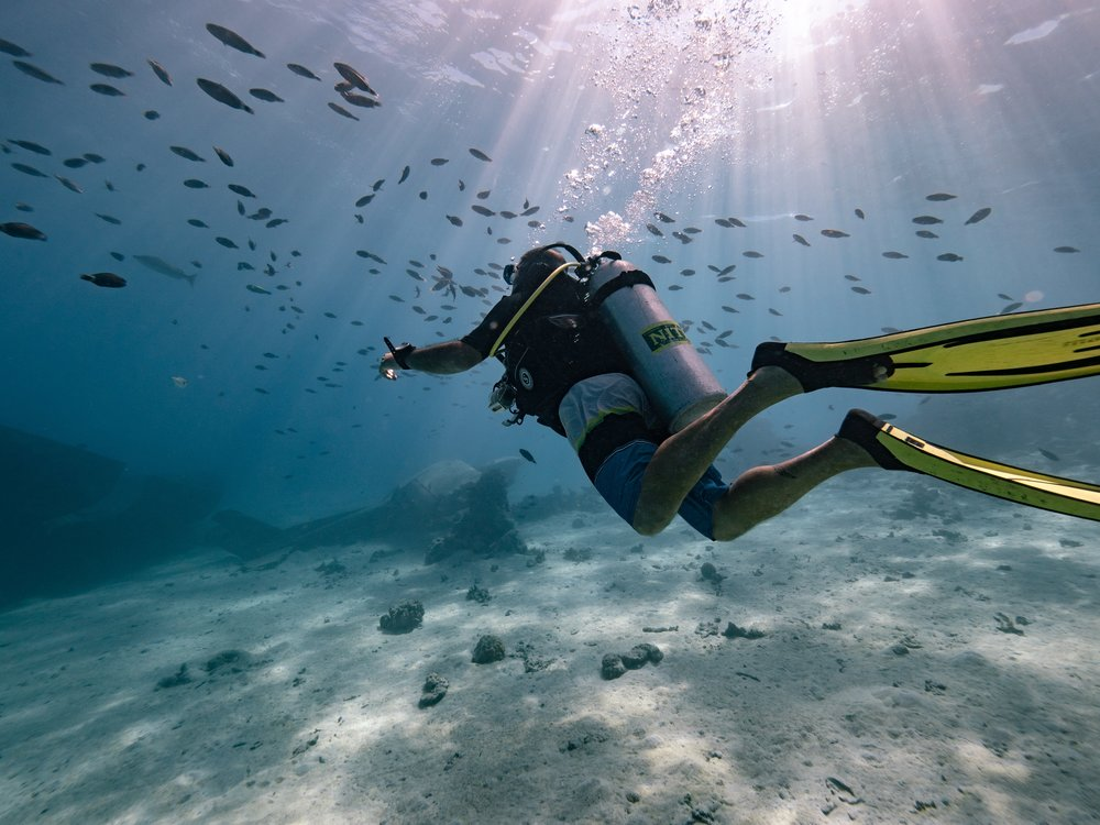 The Islands of Tahiti are a true diving paradise for everyone