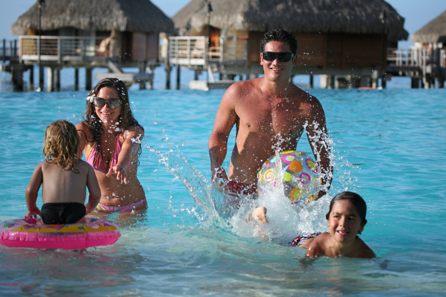 The Islands of Tahiti are the perfect spot to spend a unique moment with your family