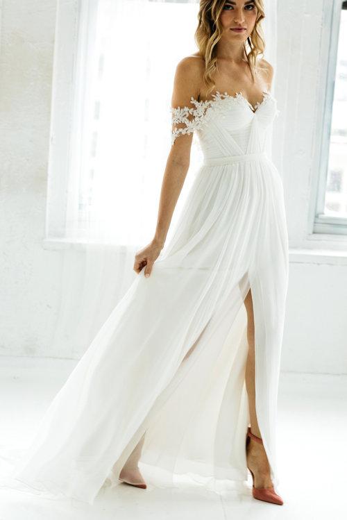 Marlene — Unique, Boho Vintage Designer Wedding Dresses & Bridal ...