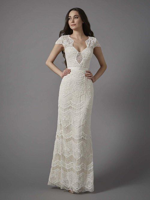 Kathryn — Unique, Boho Vintage Designer Wedding Dresses & Bridal ...