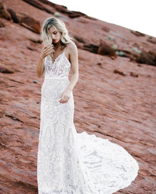 Ella — Unique, Boho Vintage Designer Wedding Dresses & Bridal ...