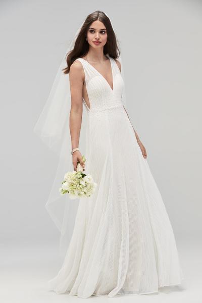 Enid Unique Boho Vintage Designer Wedding Dresses Bridal