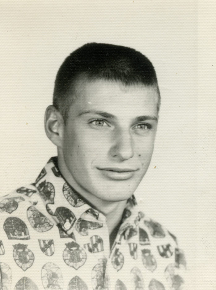 Ernie's son, Herb, in High School
