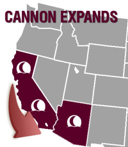 Cannon Expands