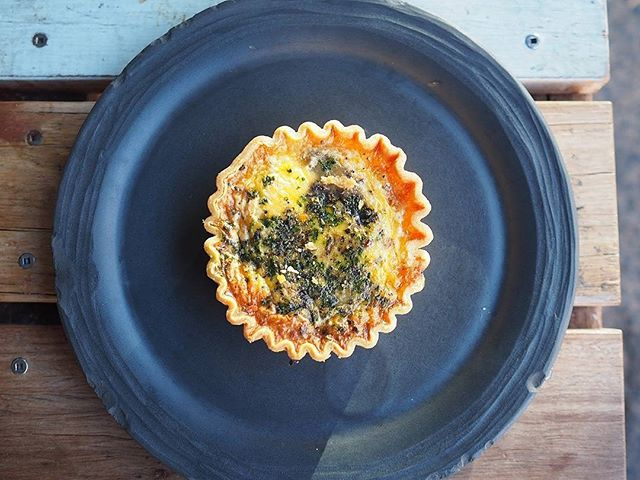 Mushroom and Fine Herb Quiche Mushroom and Fine Herb Quiche made with free-range eggs and buttery shortcrust pastry.
