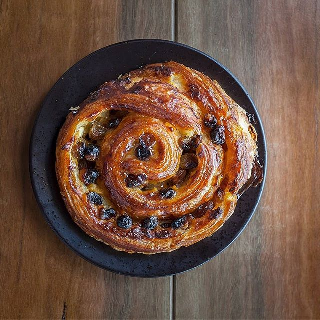 Pain Aux Rasin teamed up with a @littlemarionette coffee is a perfect French breakfast!