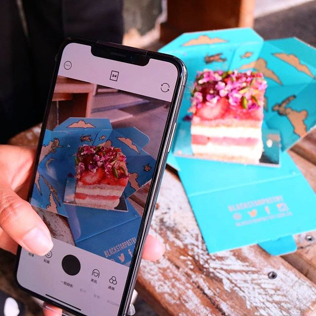 When you're the world's most Instagrammed cake! 🍰🍰