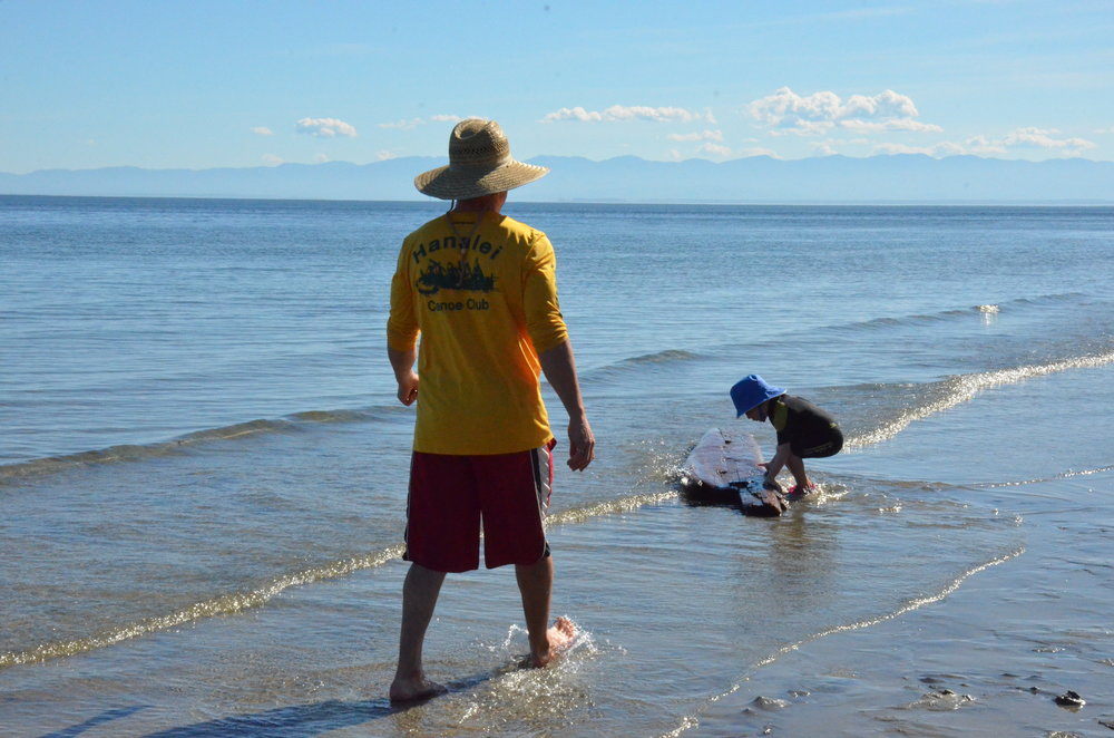 savary island south beach play