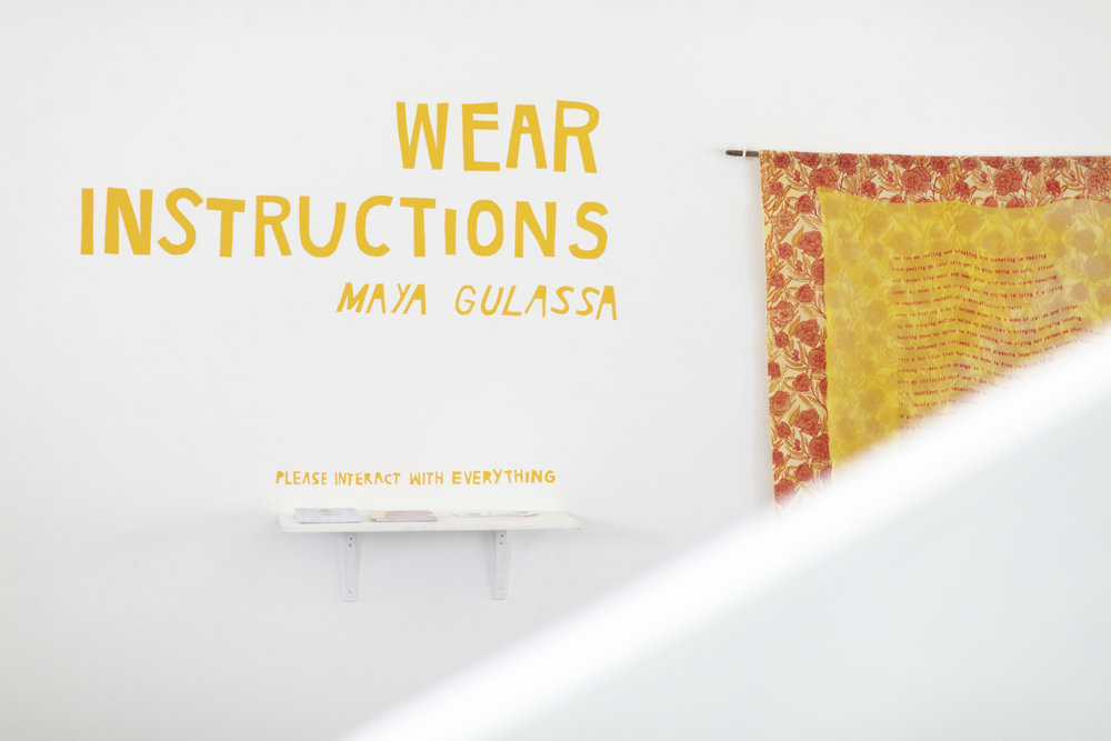 Wear Instructions, 2018