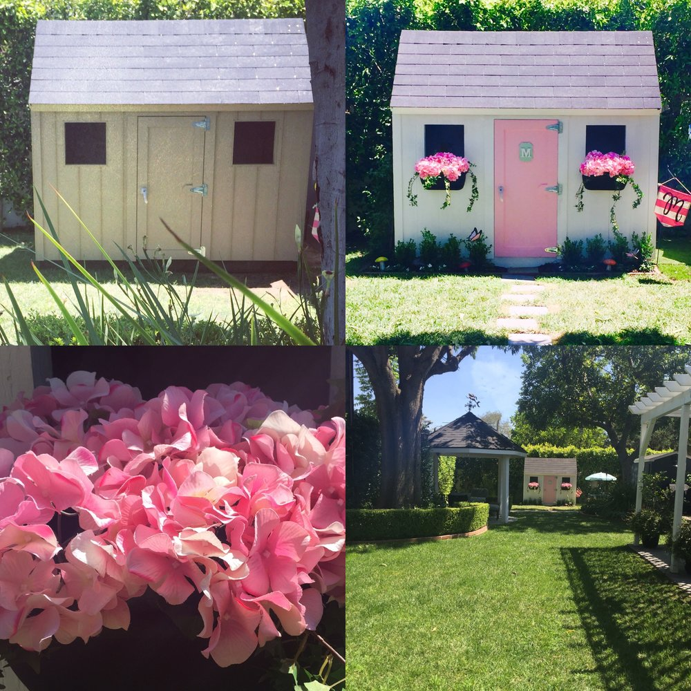 Before & After: Shed to Chic Playhouse
