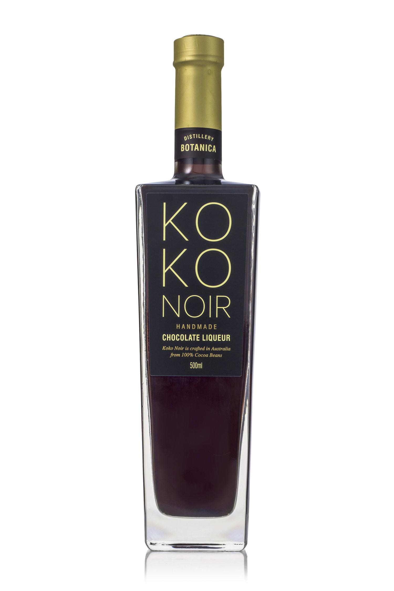 Koko Noir Chocolate Liqueur 500ml — Distillery Botanica