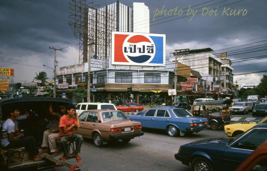 Sukhumvit Road, Bangkok 1984