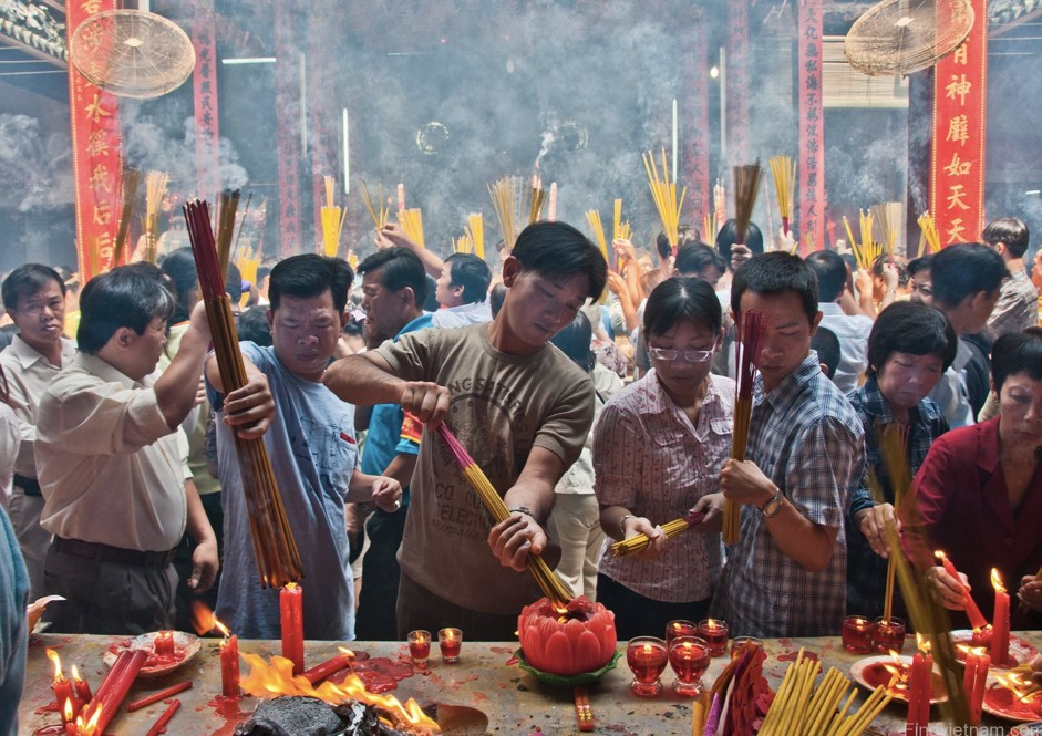 "Celebrating the Lunar New Year, ""Tet"" in Vietnam"