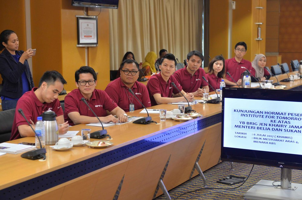 Engaging with Ministry of Youth and Sports | GIFT ASEAN Young Leaders Programme
