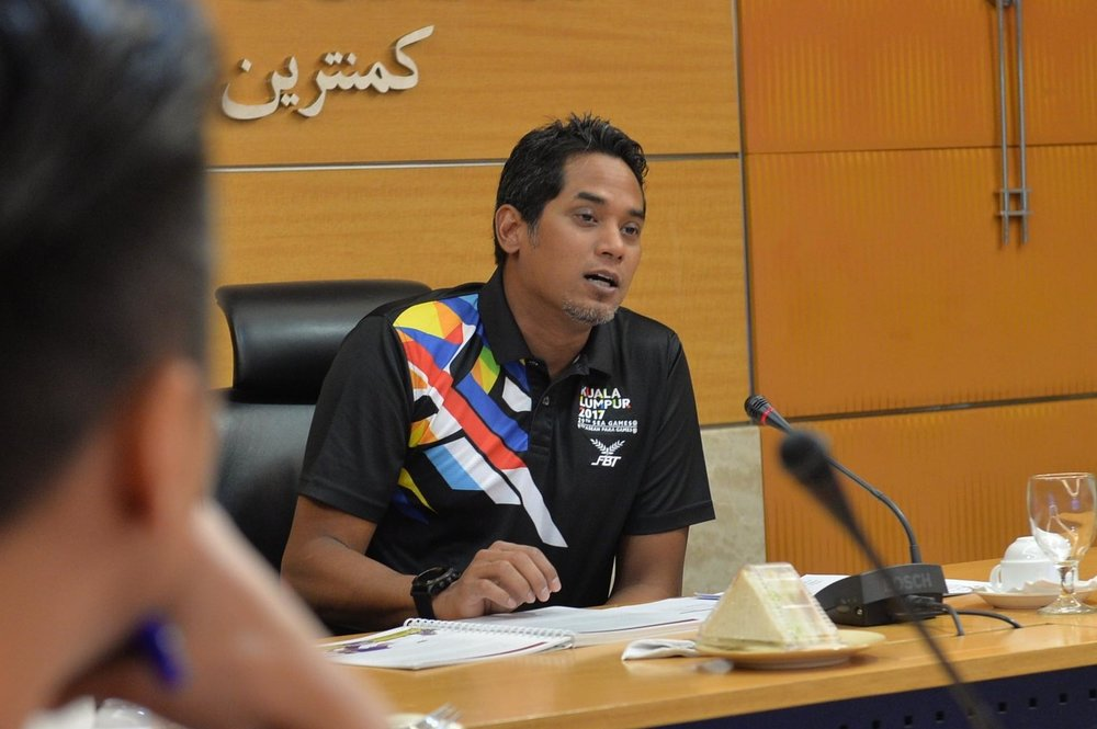 YB Khairy Jamaluddin, Minister for Youth and Sports