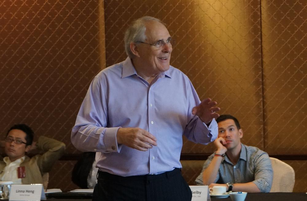 David Eldon, Former Chairman, HSBC Asia Pacific