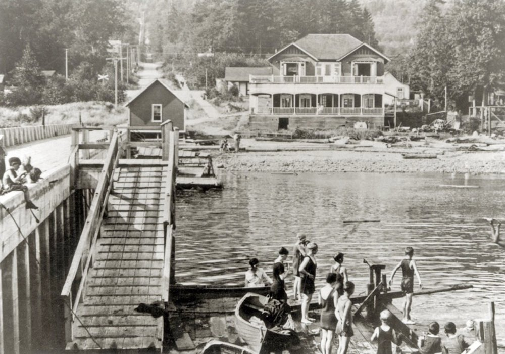 Dundarave Pier, 1918.