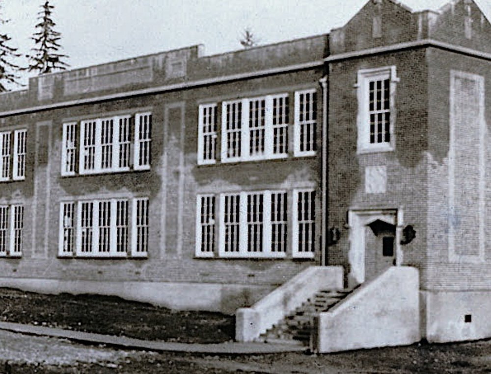 Pauline Johnson Elementary School, 1923.
