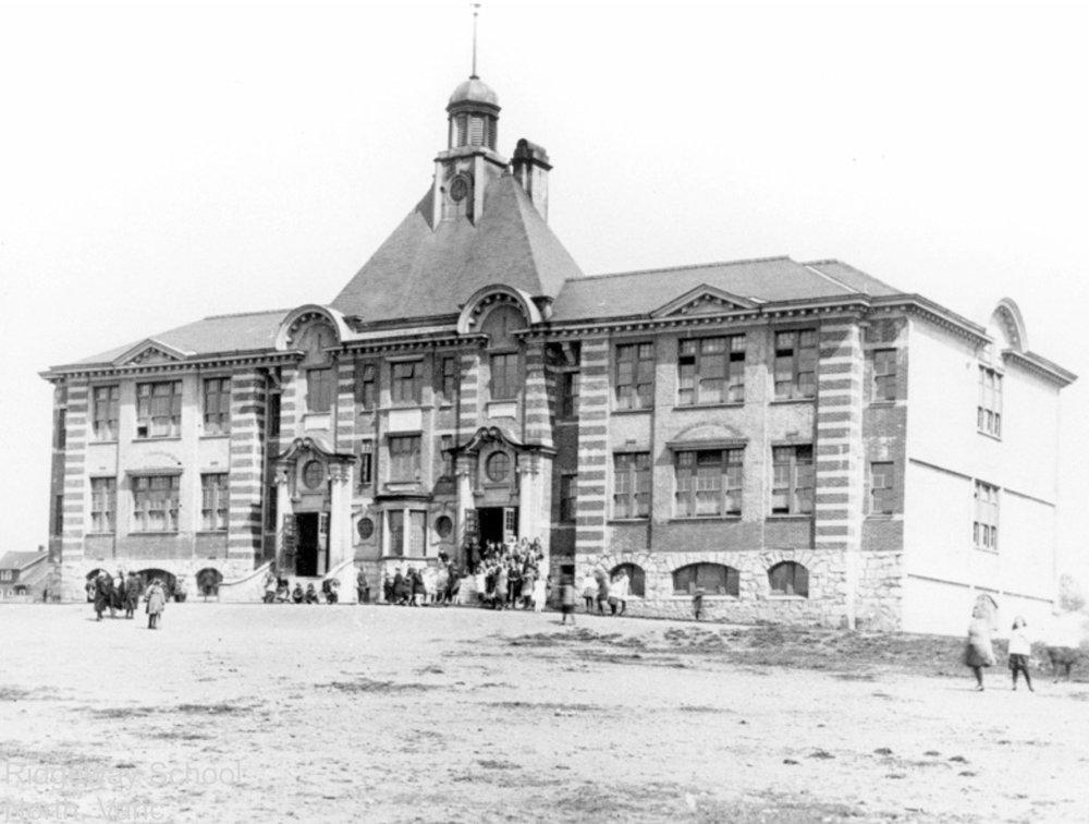 Ridgeway School, 1910.
