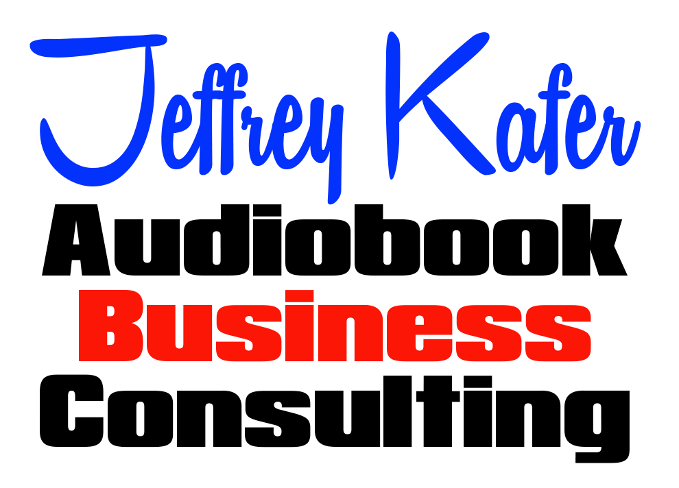 Jeffrey Kafer Audiobook consulting