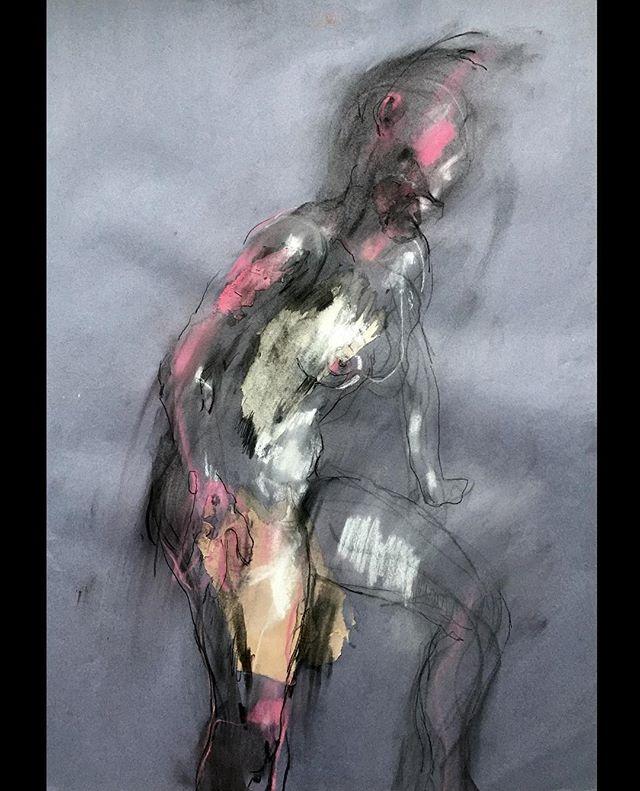 ...Naked Light.... collage and drawing on sugar paper . . . #lifedrawing #figurativedrawing #figuredrawing #charcoal #contemporaryart #artforinteriors #artforsale #contemporaryrealism #artoftheday #sketch #femaleartist #abstractart