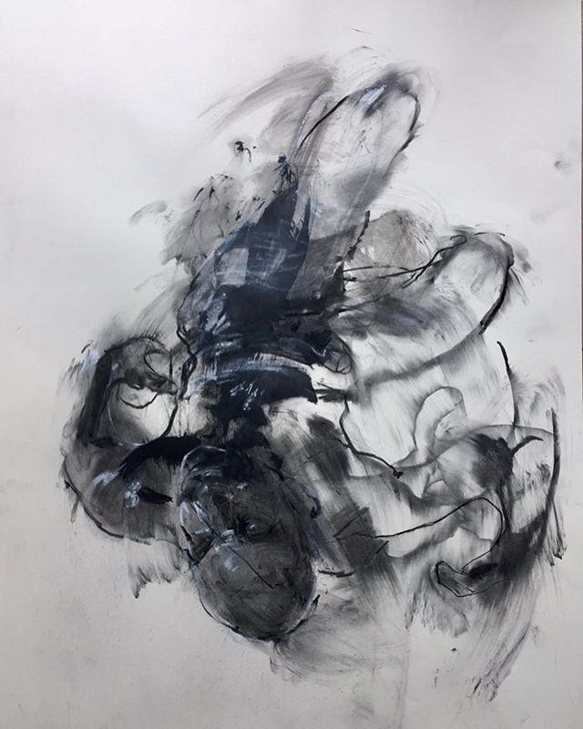 ...knock you out.... life drawings  60 x 84 cm . . . #lifedrawing #fromlife #drawing #art #expressionism #impressionism  #figurativeart #figurepainting #portrait #blackandwhiteart #largeart #artoftheday #urbanart #artforinteriors #artist #contemporaryart #fineart #artforsalebyartist #abstractart #sketch_onn