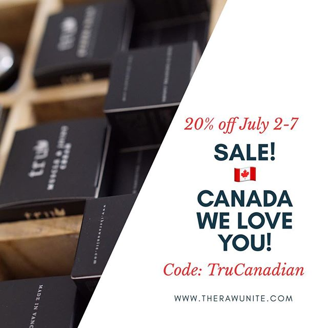 Happy Canada Day Long Weekend! Enjoy our SALE online now. 🌿**This sale is NOT limited to only Canadians.** #OnlineShopping #Sale #promotionalproducts