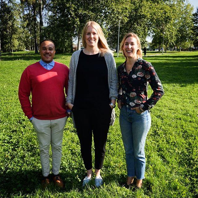 Idag hälsar vi Christoffer, Malin och Anna från Hermods välkommen till oss på Förvaltning i Östersund! Detta glada gäng ska göra praktik hos oss i 10 veckor. Vi hoppas ni får en givande och lärorik tid hos oss! 😊