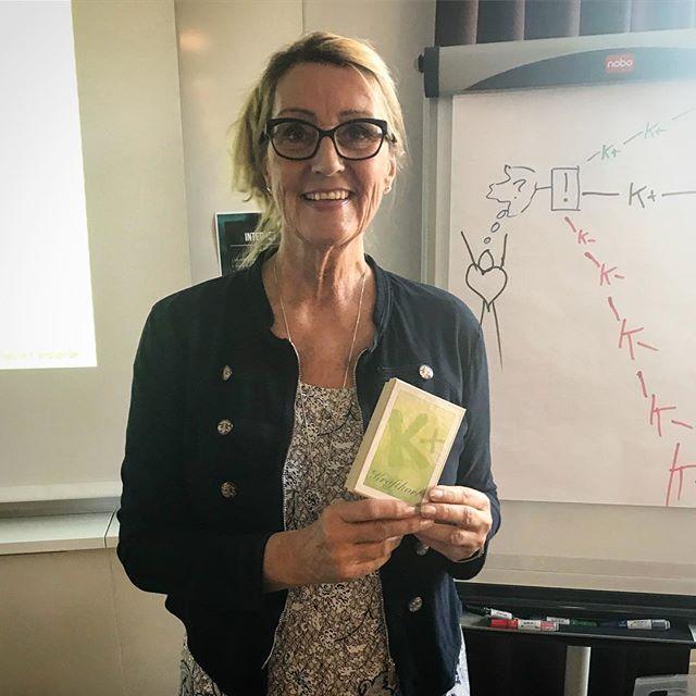 Idag har vi haft en fantastiskt inspirerande eftermiddag med en givande föreläsning av Margareta från @kraftskolan! Nu är vi fulltankade med energi inför hösten 😄