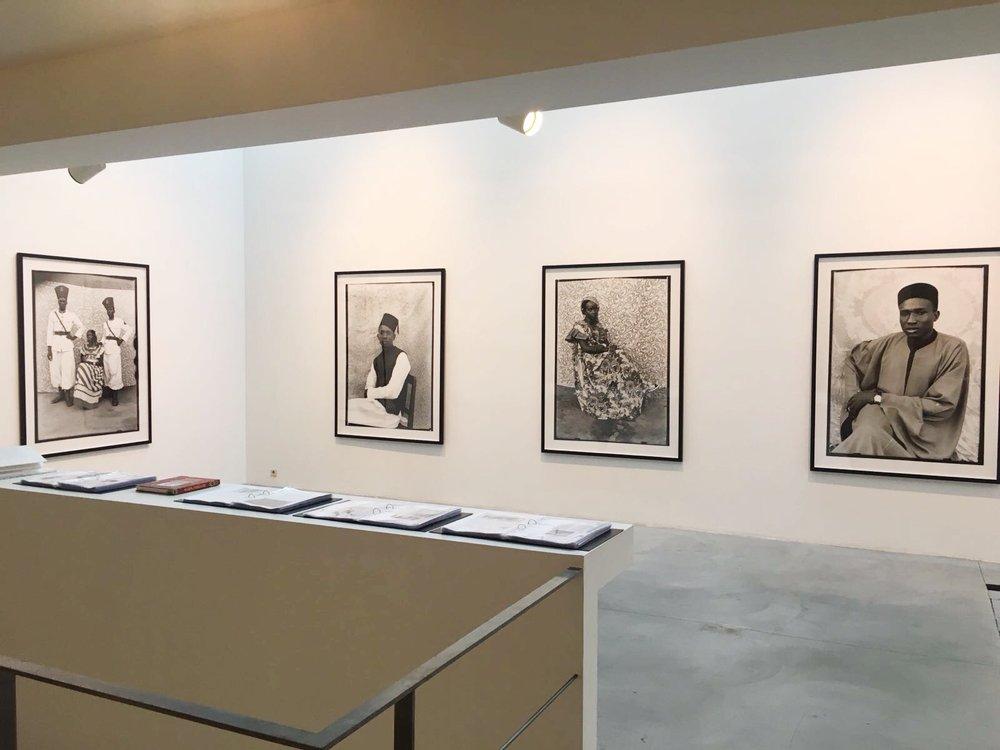 Seydou Keïta , Galerie Nathalie Obadia, vue de l'exposition.