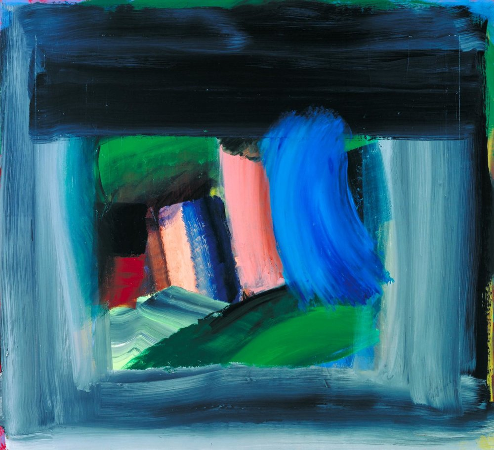 Howard Hodgkin, Rain, 1988-1989