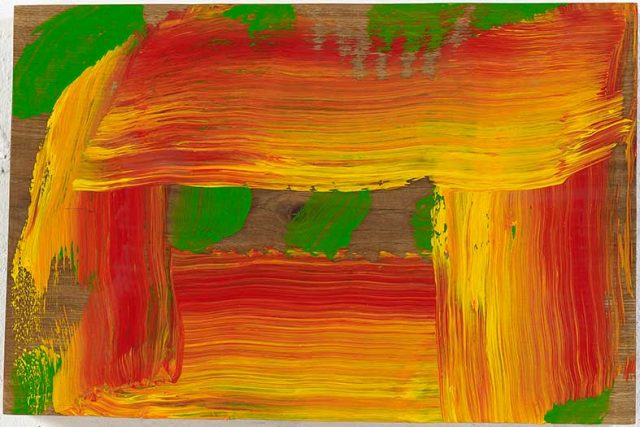 Howard Hodgkin, Through a Glass Darkly, 2015-2016