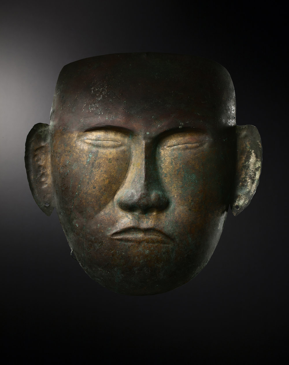 Death Mask - China, Liao Dinasty, 907-1125