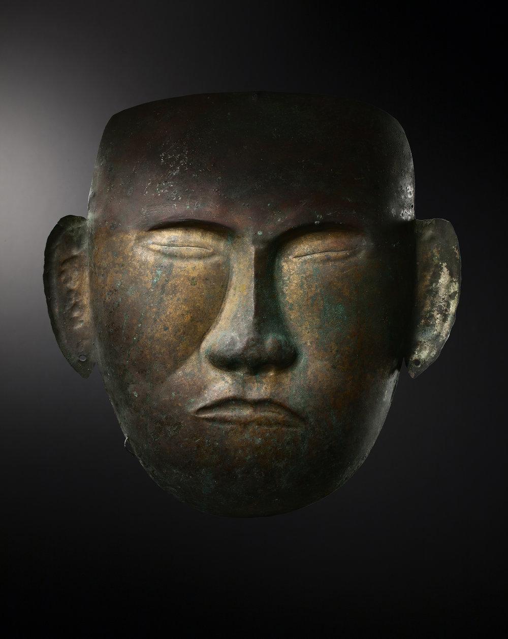 Death Mask - China, Liao Dinasty, 907-1125