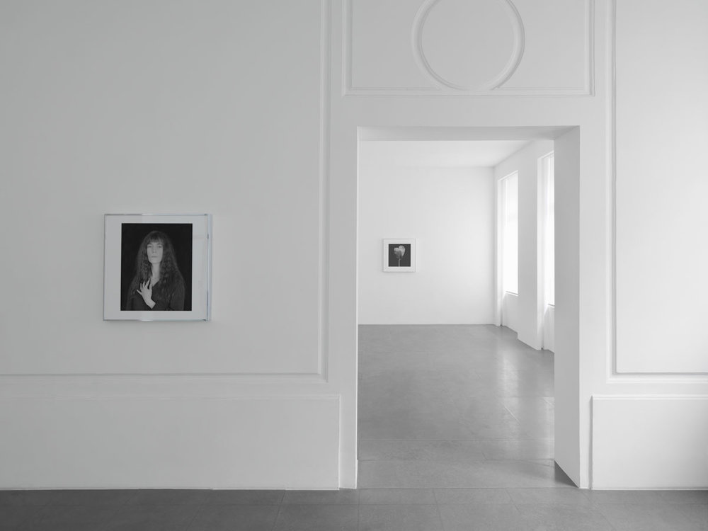 Robert Mapplethorpe, Galerie Xavier Hufkens, exhibition view. Image courtesy: Galerie Xavier Hufkens. Photo credit: Allard Bovenberg