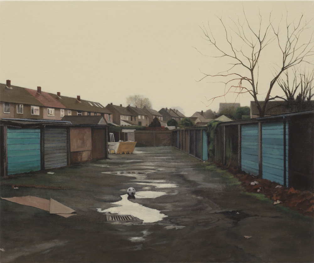 George Shaw, The National Game, 2017